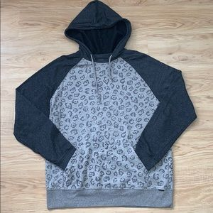 On The Byas Leopard Print Hoodie from PacSun